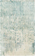 Surya Watercolor Hand Knotted Area Rug 5and039 X 8and039 Wat5004-58
