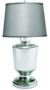 Jamie Young Lafitte Large Table Lamp In Mercury Glass 1lafi-lgmg