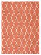 Nourison 10and039 X 13and039 Home And Garden Orange Indoor/outdoor Rectangle Area Rug