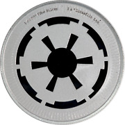 1 Oz Silver Coin Niue 2021 Star Wars Galactic Empire Bu .999 2 With Capsule