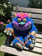 2001 Vtg My Pet Monster W/ Handcuffs Good Condition Talking 100 Working Look