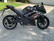 Electric Motorcycle With Alarm And Lights. Speed Up To 50mph Big Bike