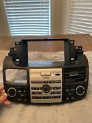 Acura Rdx Oem Front Navigation Cd Player Radio Frame Climate Control 2007-2009