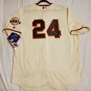 Authentic 56 3xl Willie Mays San Francisco Giants Holo Signed Hof 79 Jersey