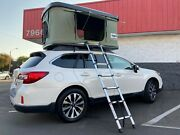 Takao Hardshell Roof Top Camp Tent - Green For Cars Trucks Suvs Fits 3 Person