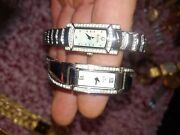 Bulova Ladies Crystal Watches Mother Of Pearl