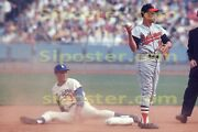 1966 Maury Wills Los Angeles Dodgers Poster Si Sports Illustrated Like Photo