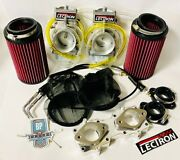Banshee 40 Mil Lectron Lectrons Carbs Carb Kit Complete 40mm Super Cub 496 521
