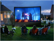 Pvc Movie Blower Projection Screen Entertainment Advertising Outdoor Party