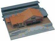 Kato N Gauge Double-track Plate Ground Station Building 23-126 Model Railroad