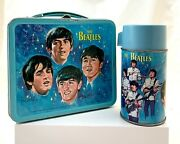 Rare 1965 Aladdin Beatles Lunch Box And Thermos