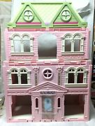 Loving Family Grand Mansion Dollhouse Fisher Price New Furniture People Complete