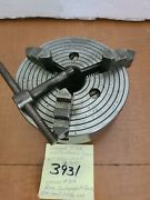 Southbend Lathe 910k 63jaw Chuck Rare Independent Jaws Union 319 1.5×8tpi...