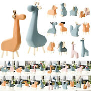 Animal Statues Model Zoo Figurines Bookcase Office Decoration Ornaments