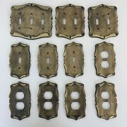Vintage Amerock Carriage House Light Switch Plate And Outlet Covers Lot Of 11 A