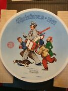 Knowles Collector Plates By Norman Rockwell With The Certificate Of Authenticity