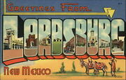 Lordsburg New Mexico Large Letter Garage Firestone Army Signs Sku685