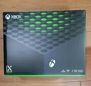 Microsoft Xbox Series X 1tb Video Game Console Disc Version New Sealed Sold Out