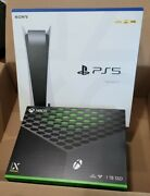 New Playstation 5 Disc Console With Xbox Series X Disc Console Bundle Sealed 🔥