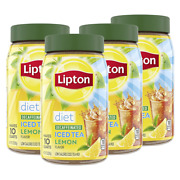 Lipton Iced Tea For A Cool Beverage Diet Decaffeinated 3 Ounce Pack Of 4