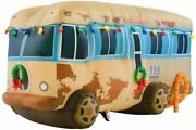 7 1/2and039 Gemmy Airblown Inflatable Christmas Vacation Cousin Eddieand039s Rv Camper