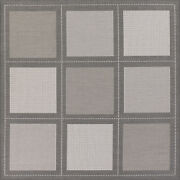 Couristan Recife 7and0396 X 7and0396 Square Area Rugs In Grey/white 10433012076076q