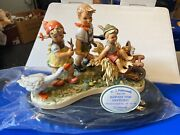 Hummel Figurine 2190 Harvest Time 12 5/8x9 1/8in 1 Choice Incl. .top Condition