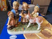 Hummel Figurine 2165 On The Rank 7 1/2in 1 Choice Incl. .top Condition