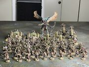 Fully Painted Warhammer 40k Death Guard Army
