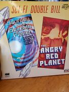 Laserdisc Sci Fi Double Bill. Journet To The Seventh Planet/ Angry Red Planet...