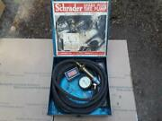 Vintage 1930and039s Schrader Spark Plug Tire Pump Inflating Device Ford Dodge A T