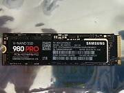Samsung 980 Pro 2tb Pcie 4.0 Nvme Solid State Drive