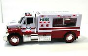 Hess 2020 Ambulance And Rescue Vehicle / Truck, Collectible Works Great, Excelle