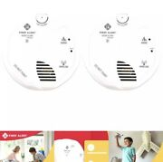 First Alert Smoke And Fire Battery Powered Detector Alarm W/ Wireless Interconnect