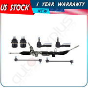 Steering Rack+ball Joints+stabilizer+tie Rod End Links For Jeep Compass 2007-17