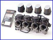 Gpz900r Zrx1100 Diverged Carburetor Set Cleansed Dyno Jet And Kandn Power Filter Yyy