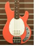 Music Man Classic Stingray -coral Red- Bass Guitar