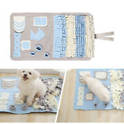 Pet Snuffle Mat Lick Pad Dogs Puzzle Dogs Bowl Indoor Outdoor Stress Relief
