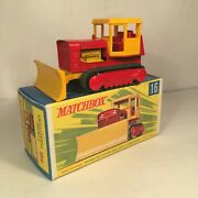 1960s.matchbox.lesney.,16 Case Tractor With Cab..mint In G Type Box.all Original