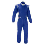 Garage Sale - Sparco Victory Rs-4 Racing Suit Sfi-5 Rated Blue/white Xxl