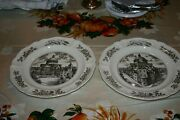 Mary Baker Eddy Wedgewood Christian Science Historical Plates Set Of Eight 8