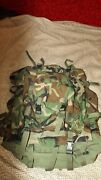 Military Army Cfp-90 Field Pack Large With Internal Frame W/ Patrol Pack