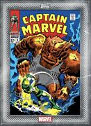 [digital Card] Topps Marvel Captain Marvel 6 Classic Vol. 2 Covers Silver