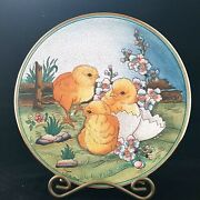 Veneto Flair Plate 1974 Easter By V. Tiziano Limited Edition 600/2000 Italy Nos