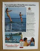 1975canadian Club - Hydrofoil Skiing In Corfu / Zenith Tv Color Ad