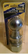 Valley 51840 8000lb 2 Inch Trailer Hitch Ball 1 1/4 X 2 1/4 Shank New In Box