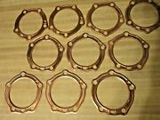 10 Copper Head Gaskets For Harley Davidson Panheads 16770-48