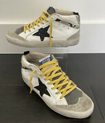 Authentic Golden Goose Mid-star Original Box And Dust Bag Gently Worn Size Eu 36