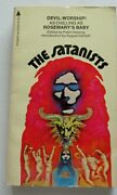 The Satanists Peter Haining First Pyramid Pb Prtg 1972 Lovecraft Bloch Wheatley