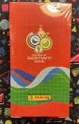 2006 Panini Candy Fifa World Cup Germany Sealed Box 36 Packs + 10 Albums New